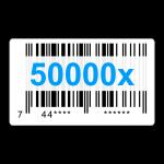 50000x